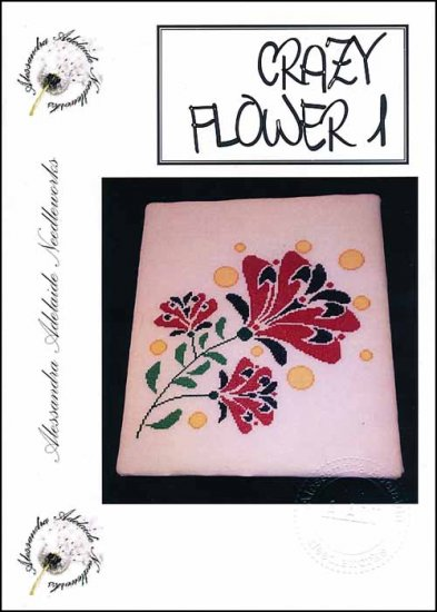 click here to view larger image of Crazy Flower 1 (chart)