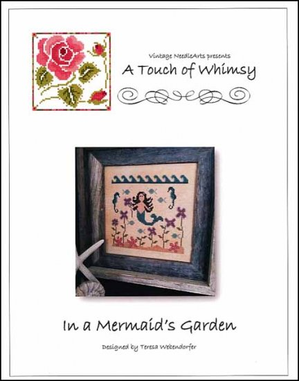 click here to view larger image of In A Mermaid's Garden (chart)
