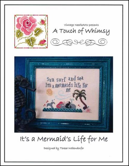 click here to view larger image of It's A Mermaid Life For Me (chart)