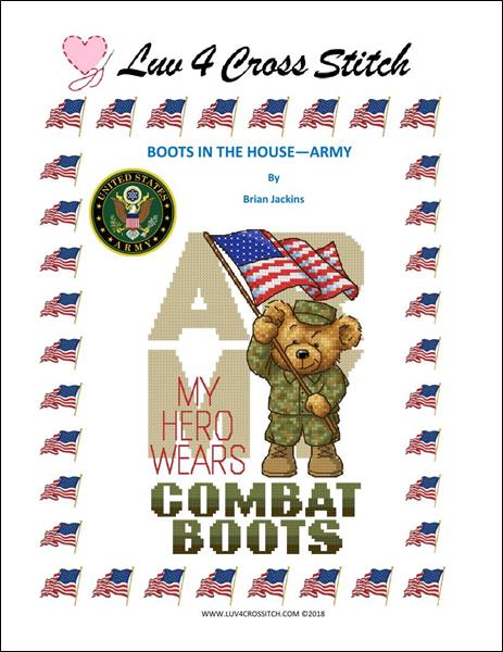 click here to view larger image of Boots In The House - Army (chart)