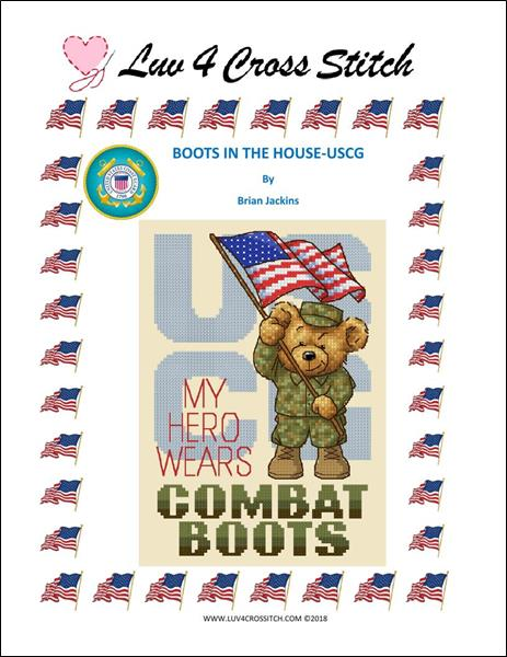 click here to view larger image of Boots In The House - Coast Guard (chart)