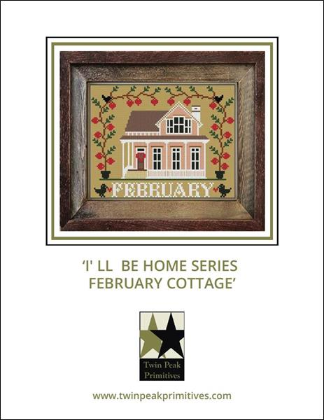 click here to view larger image of I'll Be Home - February Cottage (chart)