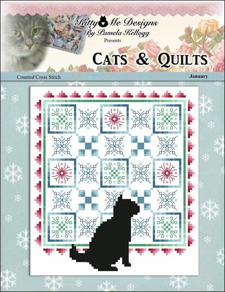 click here to view larger image of Cats And Quilts January (chart)