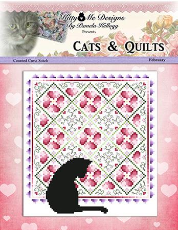 click here to view larger image of Cats And Quilts February (chart)