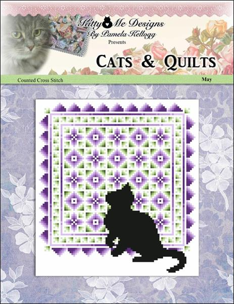 click here to view larger image of Cats And Quilts May (chart)