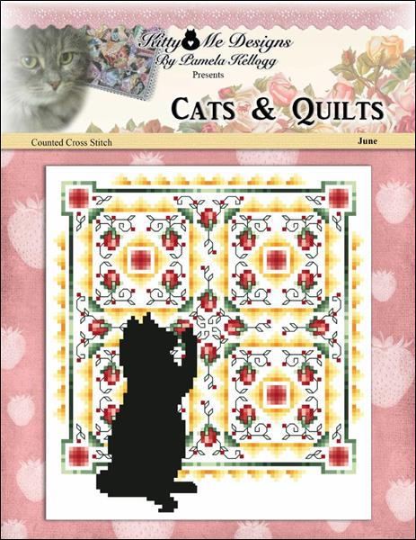 click here to view larger image of Cats And Quilts June (chart)