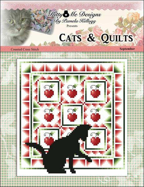 click here to view larger image of Cats And Quilts September (chart)