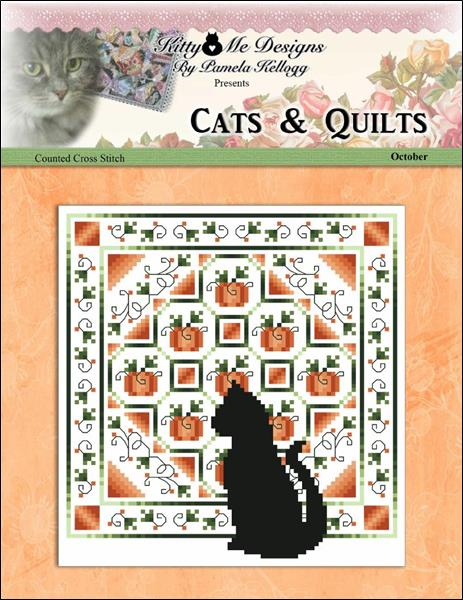 click here to view larger image of Cats And Quilts October (chart)