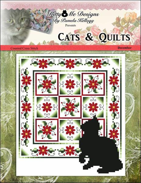 click here to view larger image of Cats And Quilts December (chart)