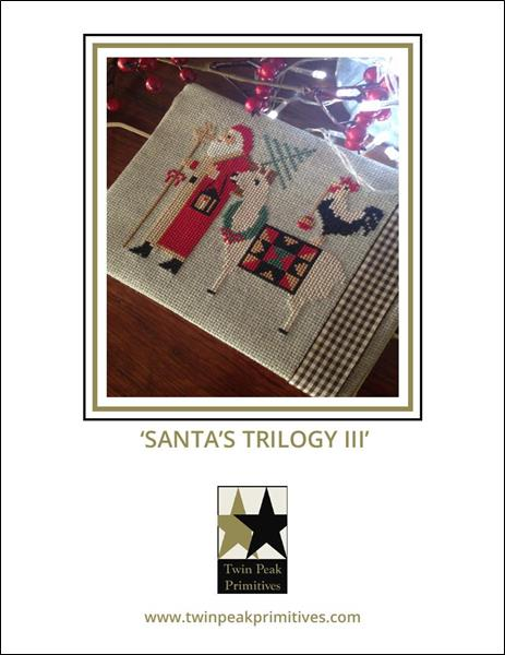 click here to view larger image of Santa's Trilogy III (chart)