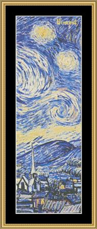 click here to view larger image of It's All In The Detail Collection - Starry Night (chart)