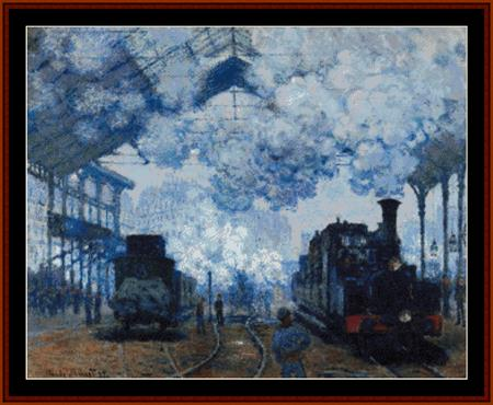 click here to view larger image of Arrival of a Train (Van Gogh) (chart)