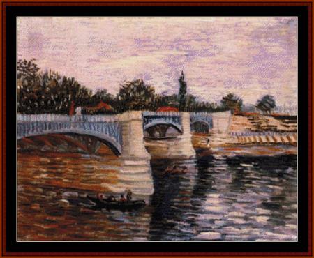 click here to view larger image of Pont de la Grand Jatte (chart)