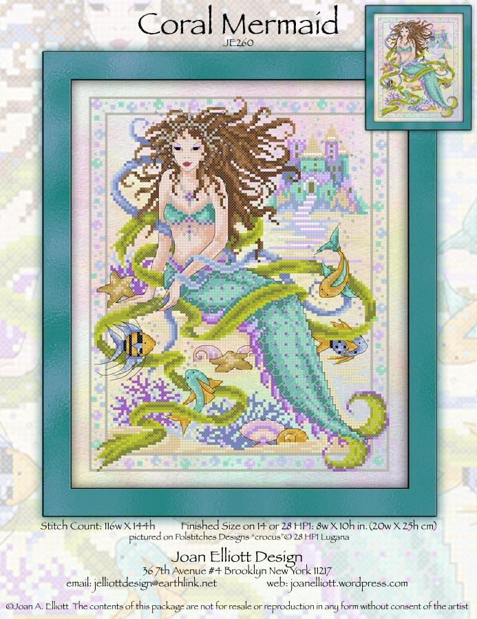 click here to view larger image of Coral Mermaid (chart)