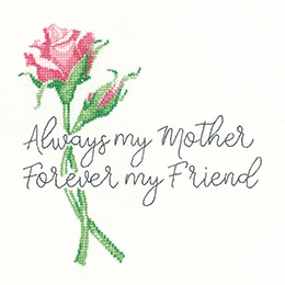 click here to view larger image of Always My Mother (27ct) (counted cross stitch kit)