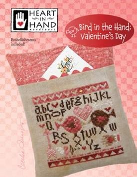 click here to view larger image of Bird in the Hand - Valentine's Day (chart)