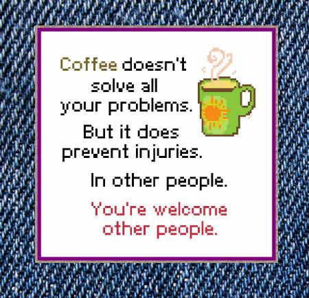 click here to view larger image of Coffee Prevents Injuries (chart)