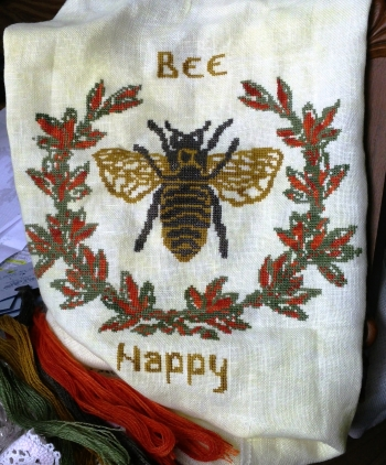 click here to view larger image of Bee Happy (chart)