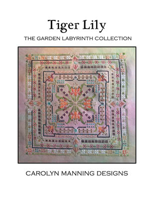 click here to view larger image of Tiger Lily (Garden Labyrinth) (chart)