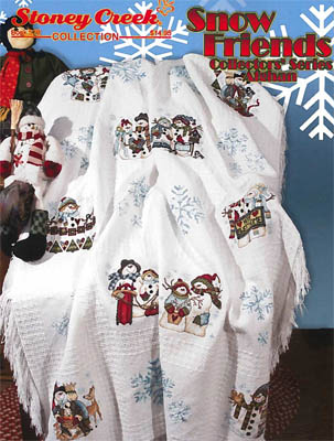 click here to view larger image of Snow Friends Collectors Series - Afghan (chart)