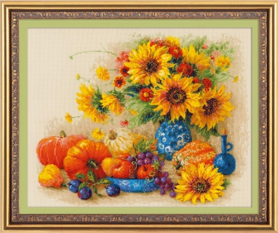 click here to view larger image of Sunny Day (counted cross stitch kit)