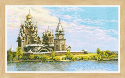 click here to view larger image of Kizhi Pogost (counted cross stitch kit)