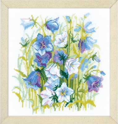 click here to view larger image of Carpathians Bells (counted cross stitch kit)