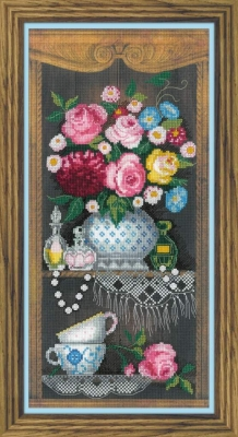 click here to view larger image of Cozy Corner (counted cross stitch kit)