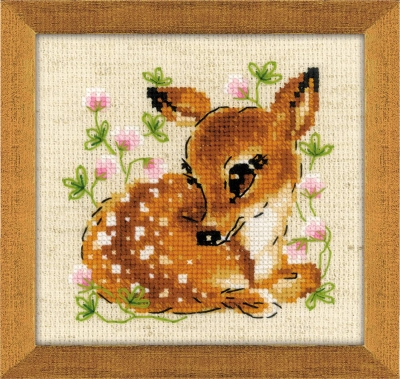 click here to view larger image of Little Deer (counted cross stitch kit)