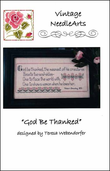 click here to view larger image of God Be Thanked (chart)