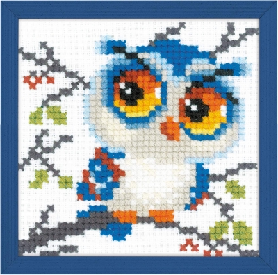 click here to view larger image of Scops Owl (counted cross stitch kit)