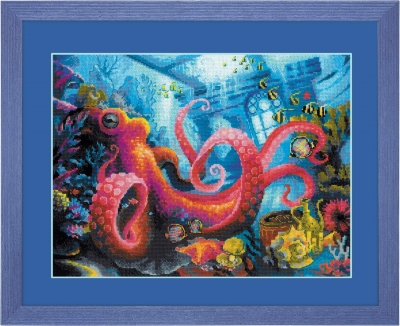 Underwater Kingdom, The - click here for more details about counted cross stitch kit