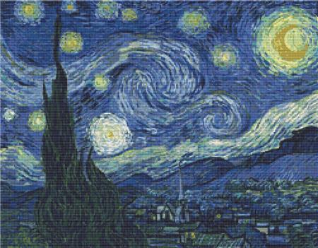 click here to view larger image of Starry Night, The (chart)