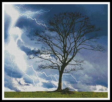 click here to view larger image of Stormy Tree (chart)