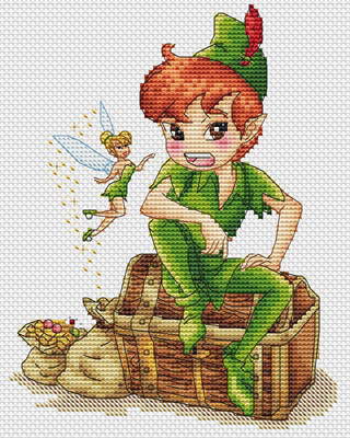 click here to view larger image of Peter Pan (chart)