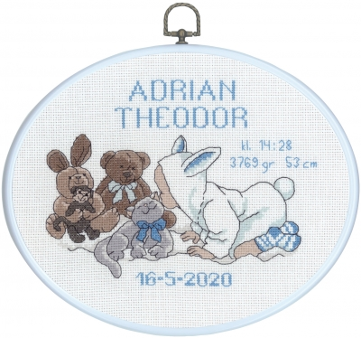 click here to view larger image of Adrian (counted cross stitch kit)