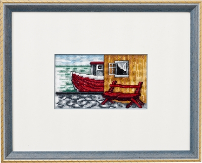 click here to view larger image of Harbor (counted cross stitch kit)