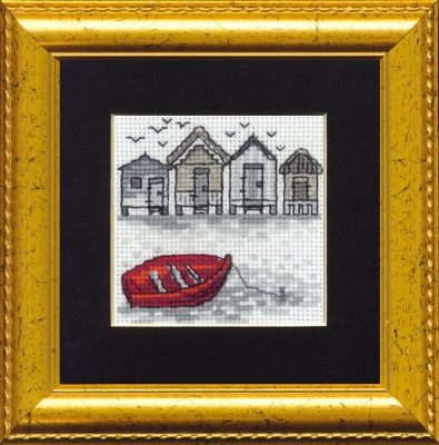 click here to view larger image of Boat  (counted cross stitch kit)