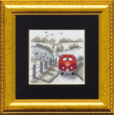 click here to view larger image of V.W. (counted cross stitch kit)