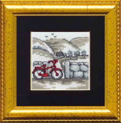 click here to view larger image of Bicycle (counted cross stitch kit)