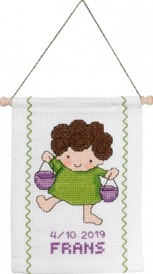 click here to view larger image of Libra (counted cross stitch kit)