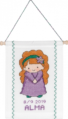 click here to view larger image of Virgo (counted cross stitch kit)