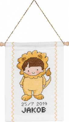 click here to view larger image of Leo (counted cross stitch kit)