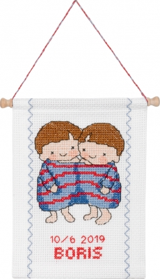 click here to view larger image of Gemini (counted cross stitch kit)