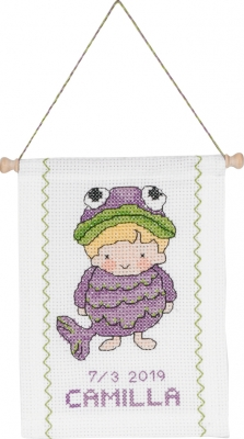 click here to view larger image of Pieces (counted cross stitch kit)