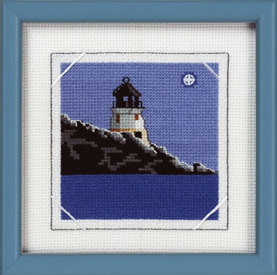 click here to view larger image of Lighthouse  (counted cross stitch kit)