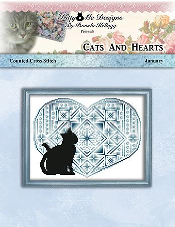 click here to view larger image of Cats and Hearts January (chart)