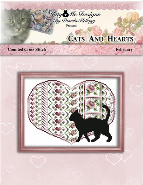 click here to view larger image of Cats and Hearts February (chart)
