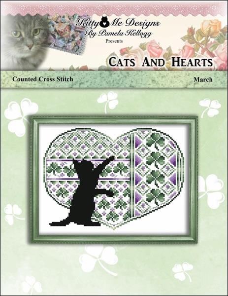 click here to view larger image of Cats and Hearts March (chart)