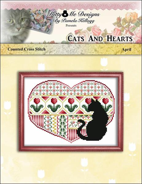 click here to view larger image of Cats and Hearts April (chart)